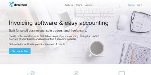 Invoicing software - Debitoor Review