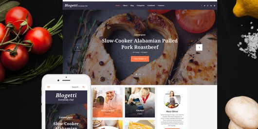 Blogetti - Restaurant Blog WordPress Theme