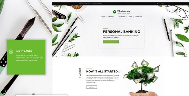 Bank WordPress Theme