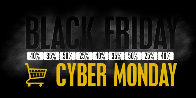 cyber monday and black friday