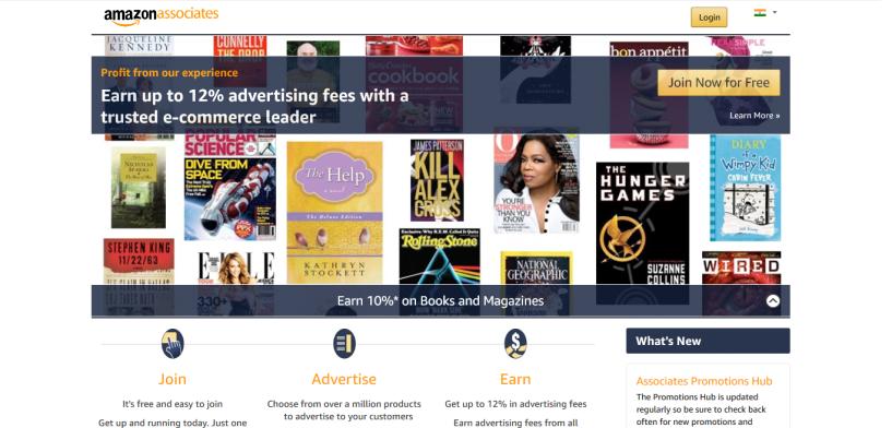 Amazon Associates - Affiliate Program