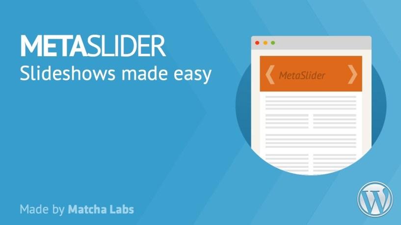 Meta Slider Installation Tutorial plugin