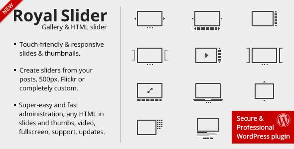 RoyalSlider - Touch Content Slider for WordPress
