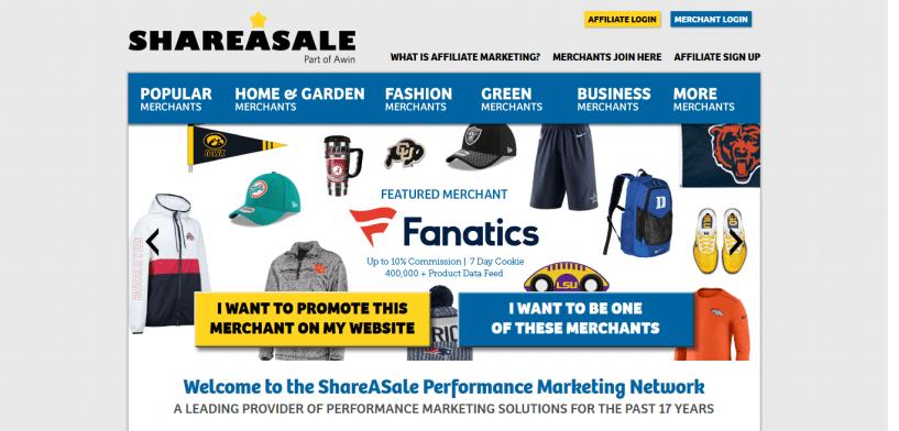 ShareASale Affiliate Program