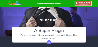 Superbar -WordPress Notification Plugin