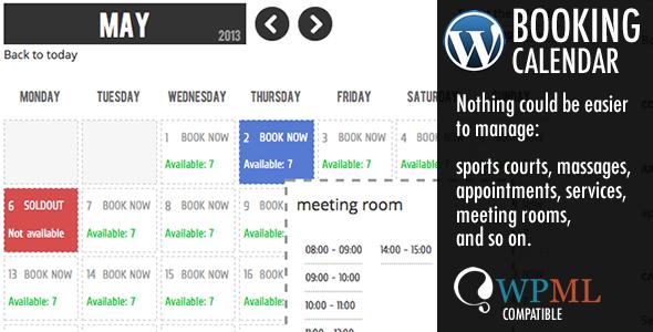 WP Booking Calendar by Wachipi
