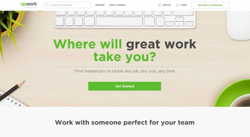 upwork freelancer jobs