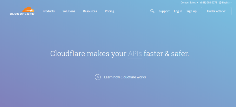 Cloudflare - Web Hosting