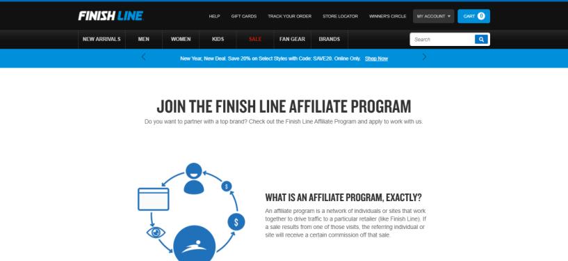 Finish Line - Real Estate Affiliate Program
