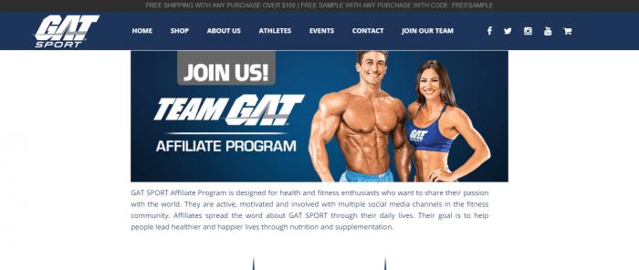 GAT SPORT AFFILIATE PROGRAM