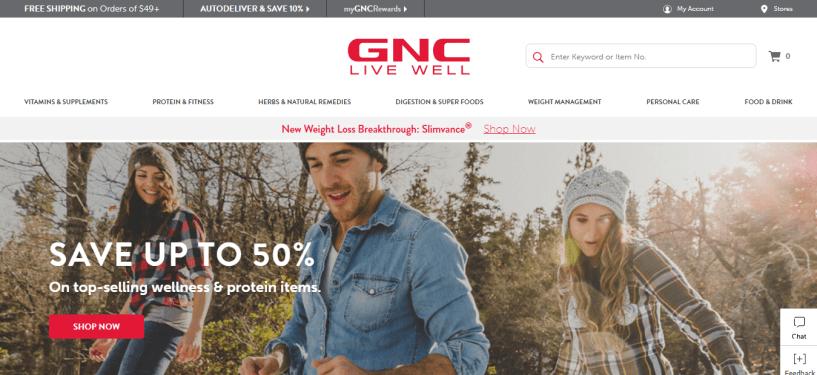 GNC - Sports Nutrition Affiliate Programs
