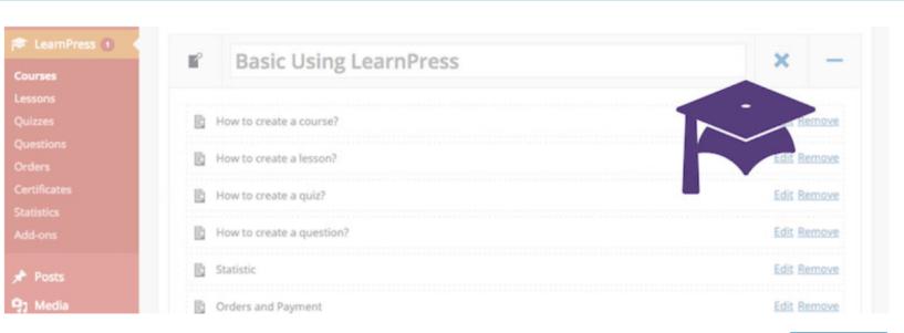 LearnPress – WordPress LMS Plugin — Build An Online Course Using WordPress