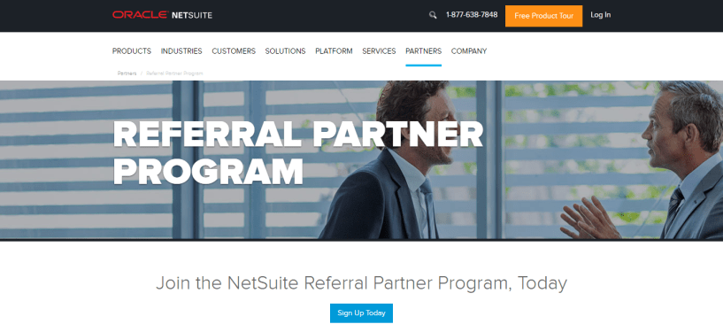 NetSuite Software Referral Partner Program