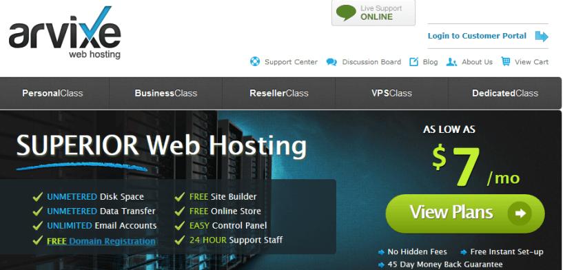Arivxe hosting - HostGator Web Hosting Alternative