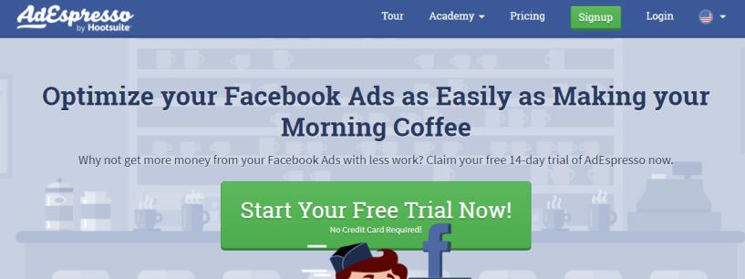 AdEspresso- Facebook Ads Spy Tools