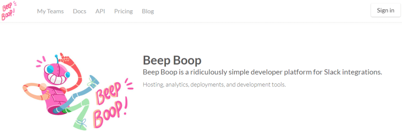 Beep Boop- tool to build best Chatbot