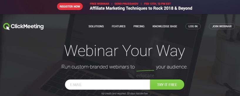 ClickWebinar- Webinar Software