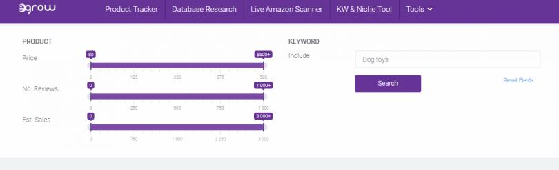 Egrow- Keyword Tool
