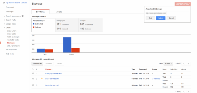 easy tip how to submit your blog s sitemap to google search console