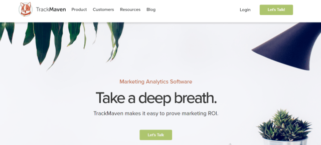 TrackMaven - Best Facebooh Ads Spy Tools