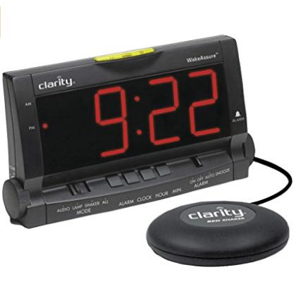 Wake Assure Alarm Clock for heavy sleepers