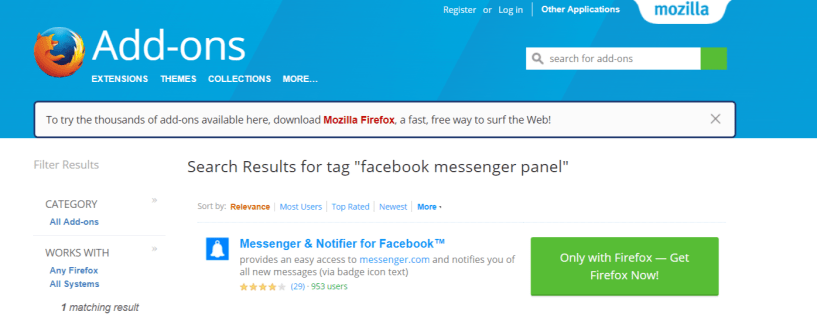 Facebook Messenger Panel- Facebook Messenger Panel