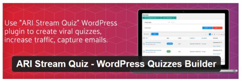 ARI Stream Quiz- WordPress Quiz Plugins