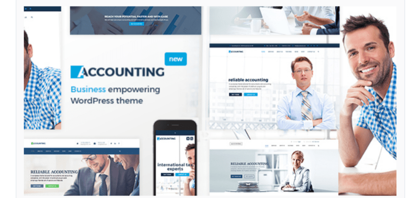 Accounting- WordPress Business Themes
