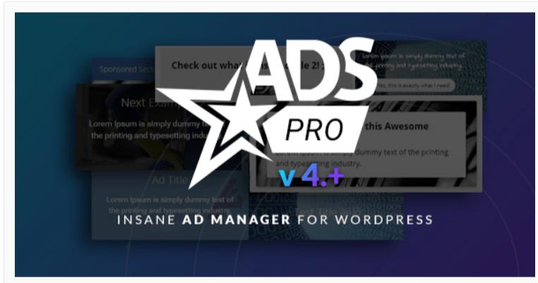 Ads Pro Plugin -AdSense Plugins For WordPress WordPress