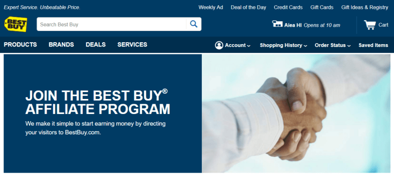 Best Buy- Affiliate Programs