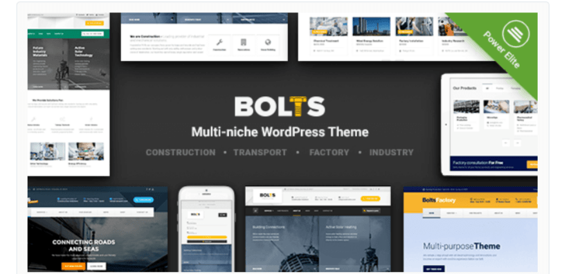 Bolts - WordPress Business Themes