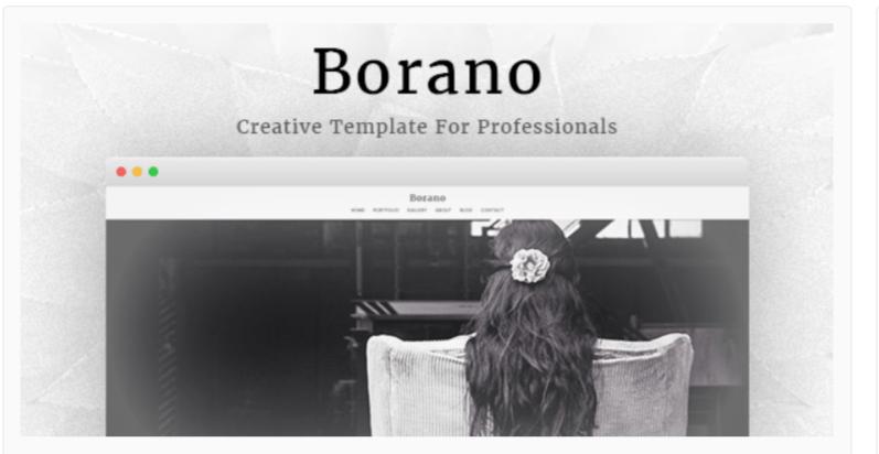 Borano-Photography WordPress Themes