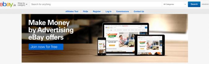 Ebay- Affiliate Programs