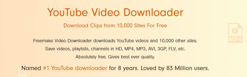 Freemake- Facebook Video Downaloder