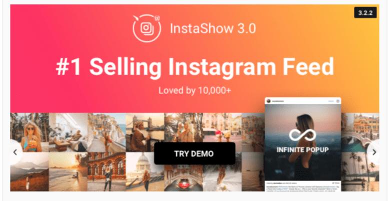 InstaShow- WordPress Instagram Plugins