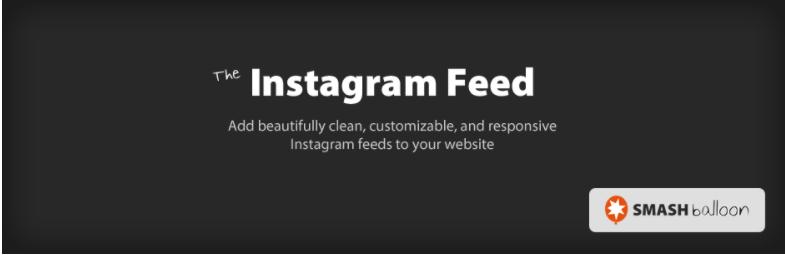 Instagram Feed- WordPress Instagram Plugins