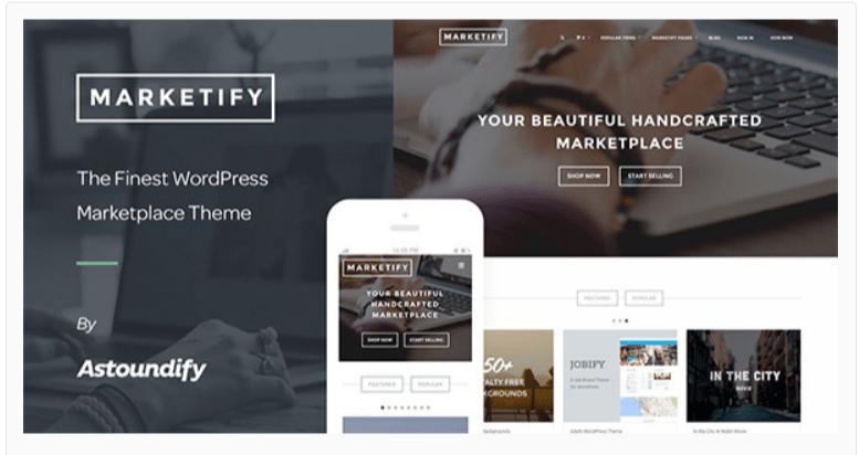 Marketify - Marketplace WordPress Themes