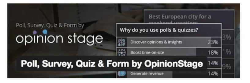 Poll Survey- WordPress Quiz Plugins