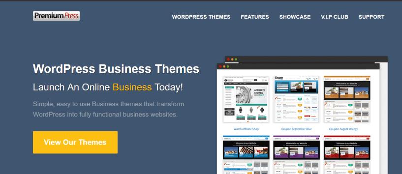 PremiumPress Review- WordPress Business Themes