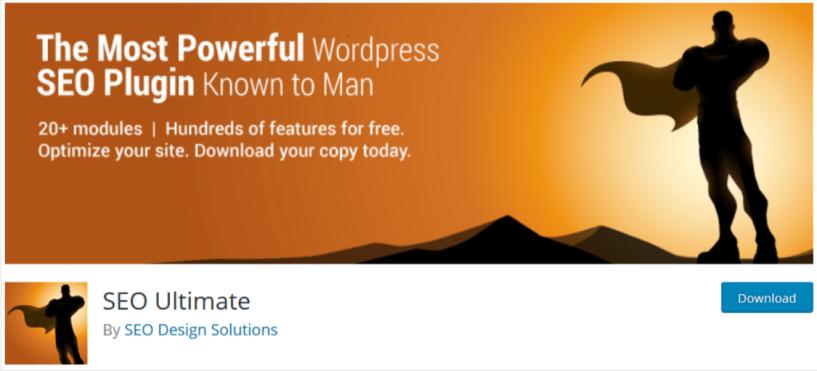 SEO Ultimate- WordPress SEO Plugins