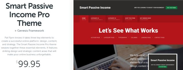 Smart Passive Income Pro - WordPress Blog Theme