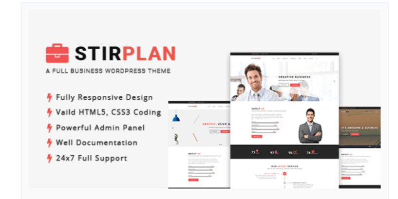 StirPlan-WordPress Business Themes