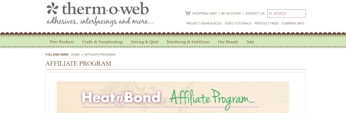 ThermOweb- Art Affiliate Programs