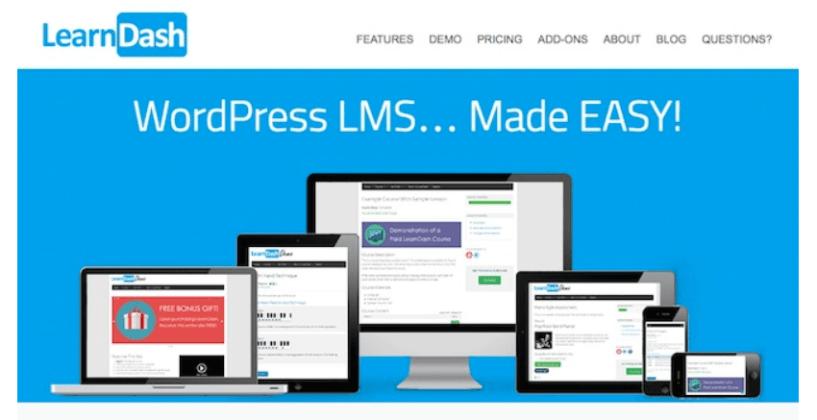 WordPress Quiz Plugins- LearnDash