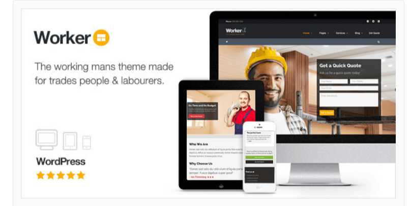 Worker - WordPress Business Themes