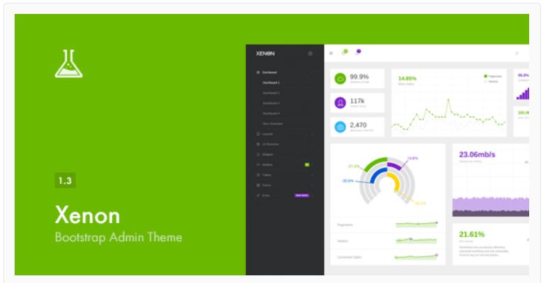 Xenon Bootstrap -WordPress Admin Themes