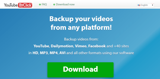YouTube By Click -Facebook Video Downloader