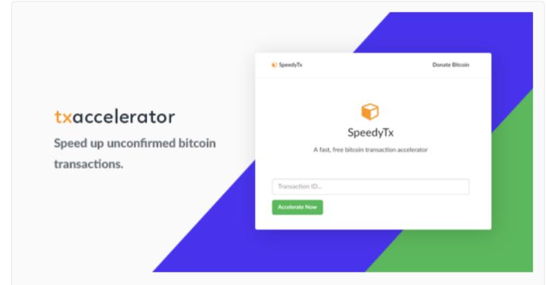 Bitcoin Transaction Accelerator - Cryptocurrency WordPress Plugins