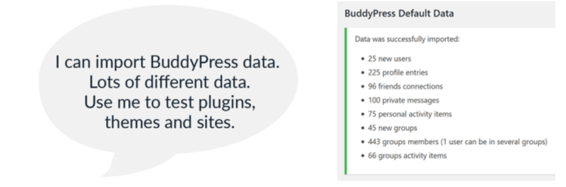 BuddyPress Default Data — Best BuddyPress Plugins