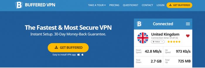 Buffered VPN-Best Top Cheap VPN's For SkyGo